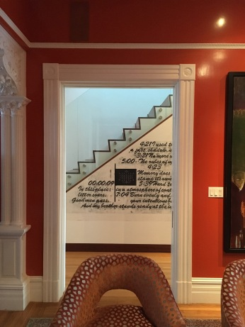the orange parlor, gallery beyond